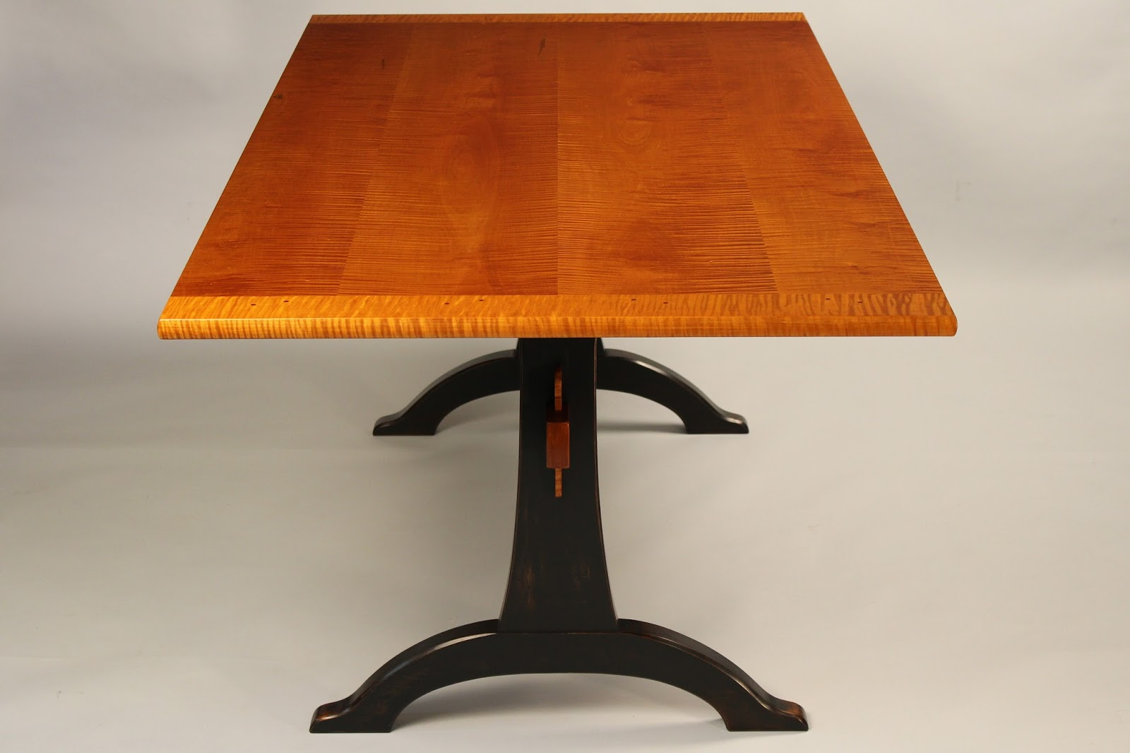 fine handmade trestle table