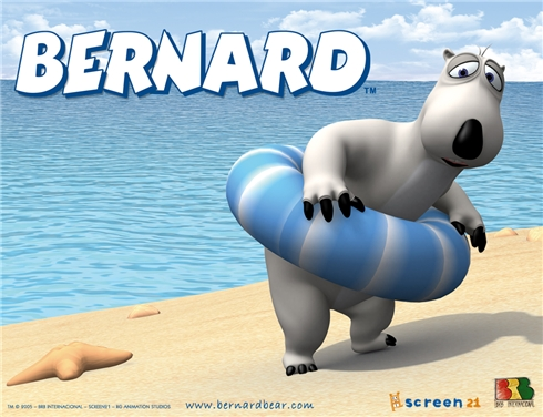 Bernard bear cartoon