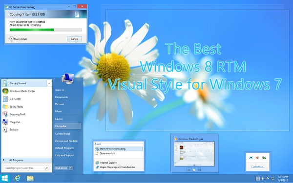 Theme Windows 8 Untuk Win 7