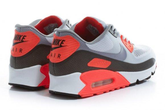 Nike Sportswear   Crooked Tongues Air Max 90 Hyperfuse    Infrared   Nike Air Max 90 Hyperfuse Infrared Crooked Tongues
