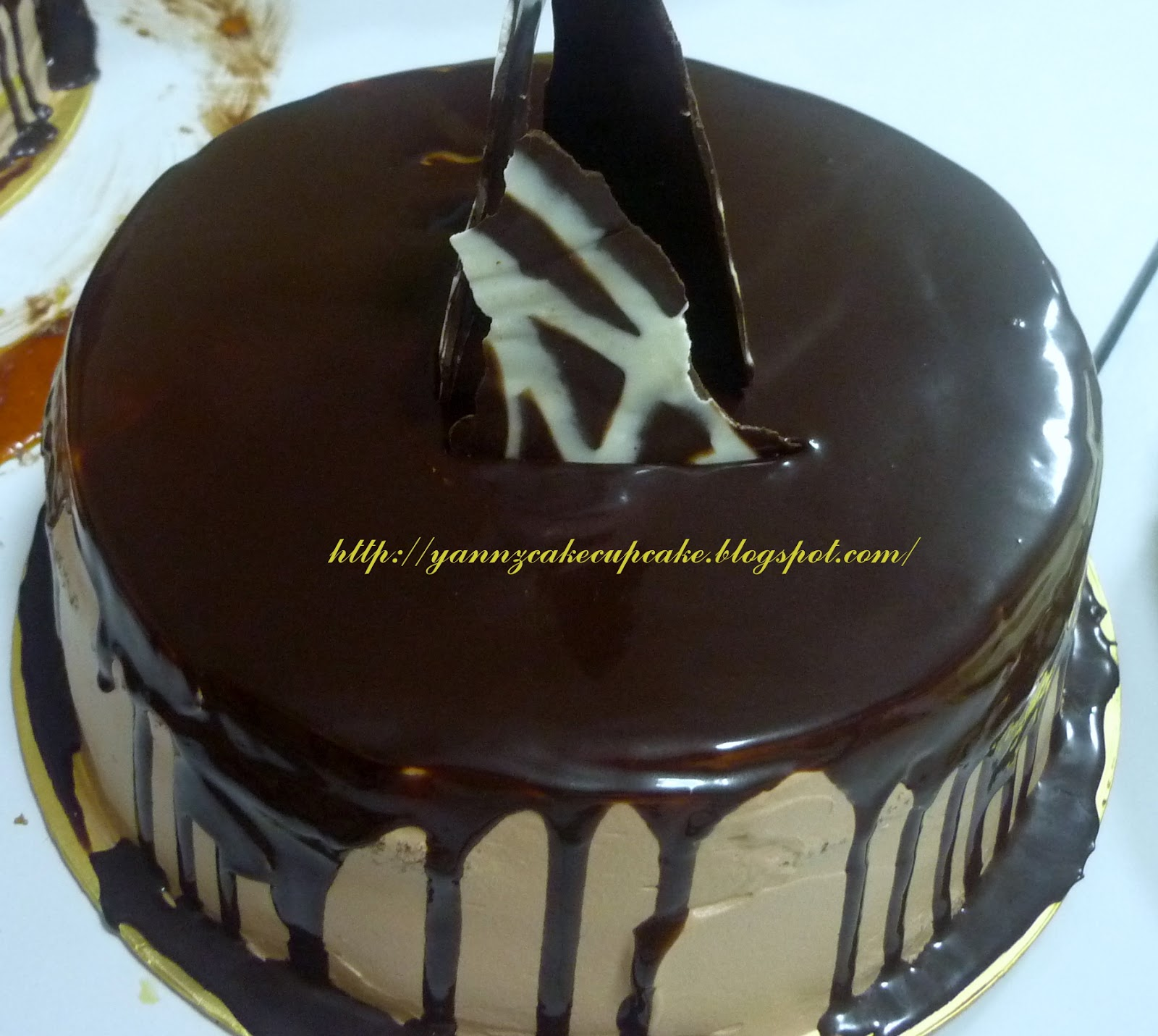 White Compound Chocolate Ganache