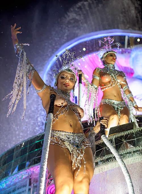 Rio de Janeiro, the official annual carnival 2014.