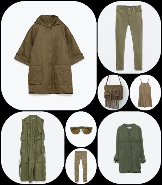 Zara moda outono-inverno 2015-2016 blusões e casacos
