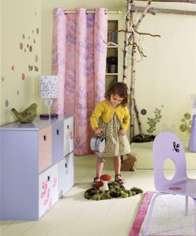 Pegatinas para la habitaci n del bebe y ni os infantil for Pegatinas pared ninos