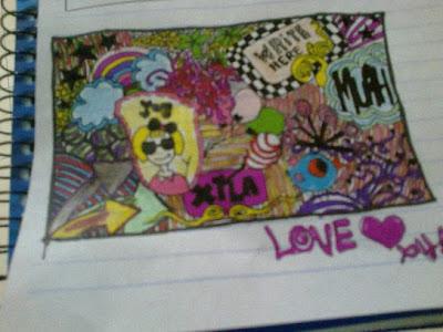 doodles, yakin diri, xila, inspiration