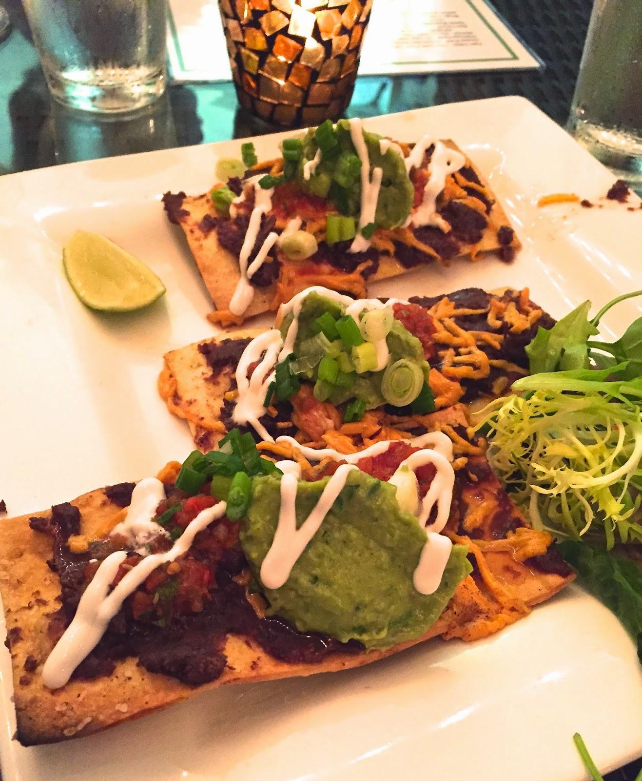 Vegan Nacho Flatbread - Darbster FL Veega Blog Pizza