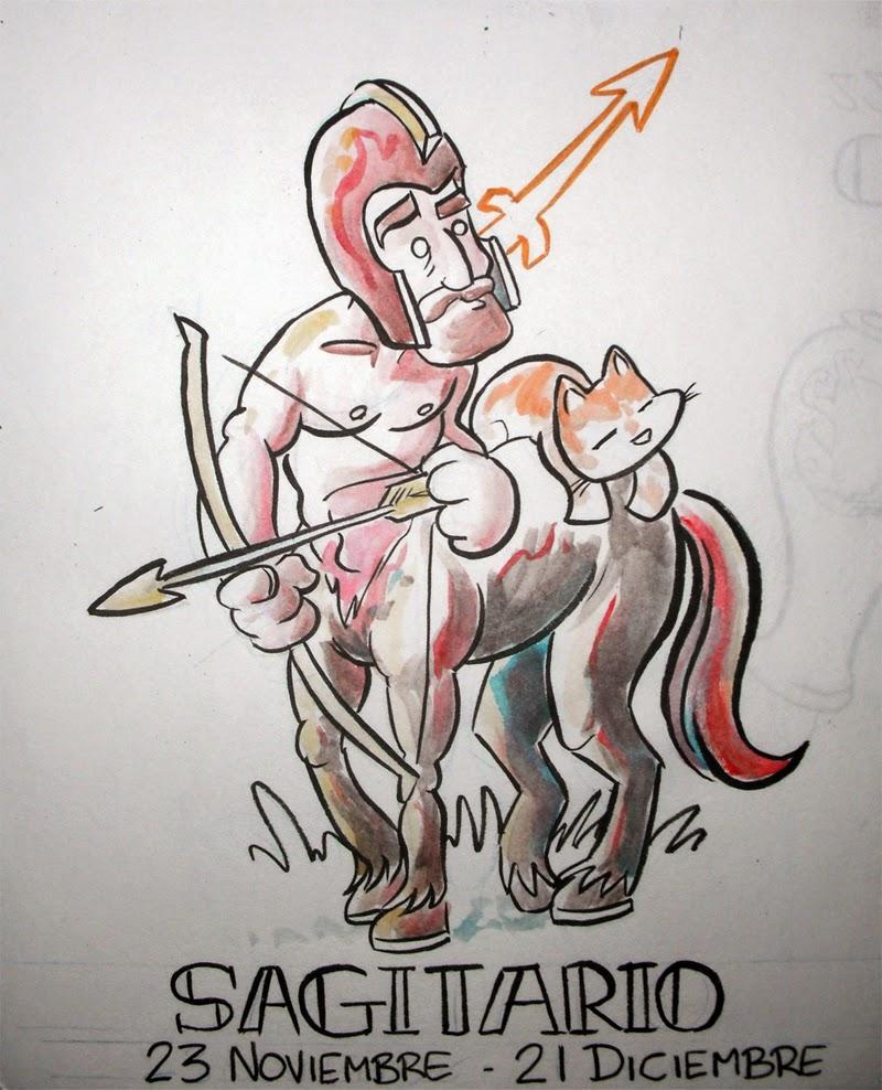 Zodiaco Gatuno signo de Sagitario
