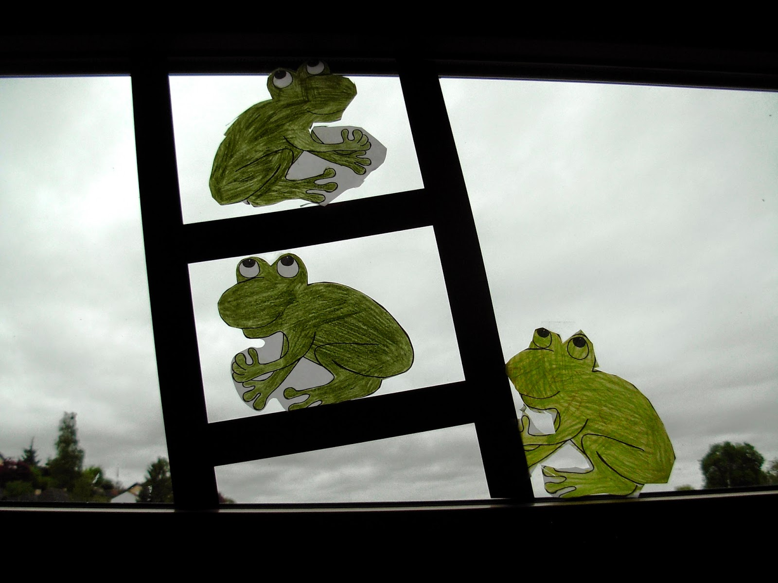 Dekoidee Frosch