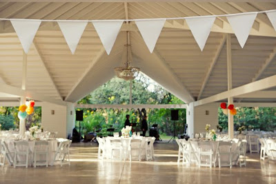 texas wedding reception bunting banners