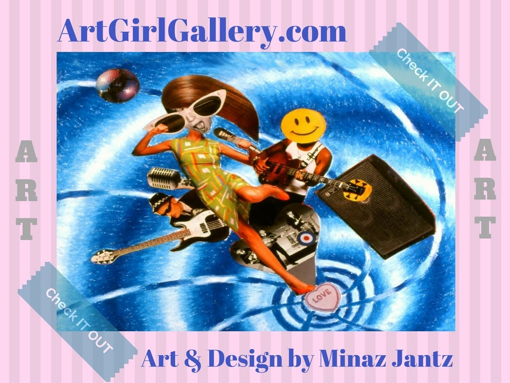 Artist Designer Minaz Jantz