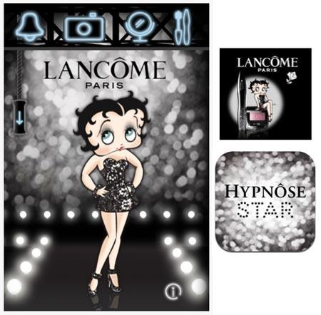 Betty Boop per Lancôme