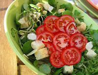Salada Crocante (vegana)