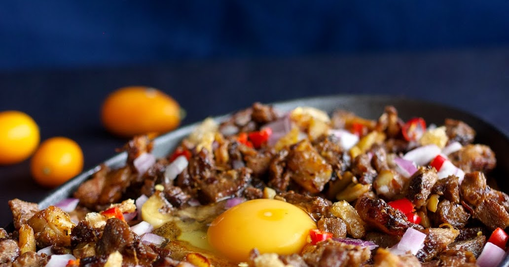 The Hungry Excavator: Sizzling Pork Sisig Recipe