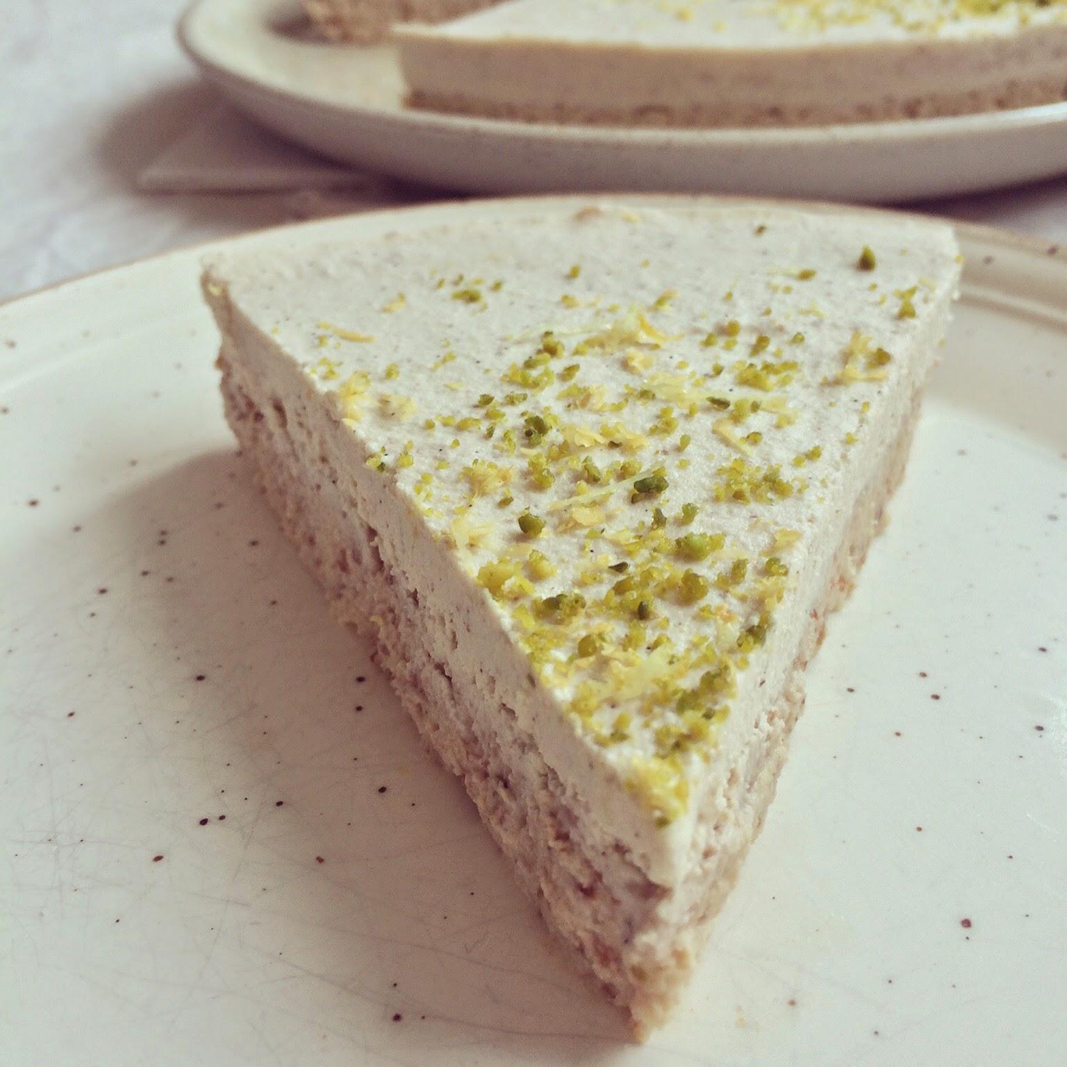 tarte au citron crue