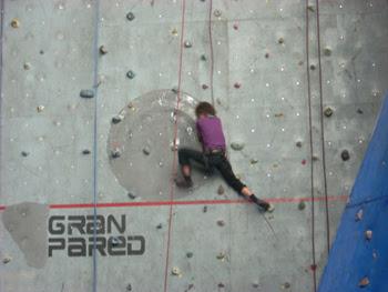 Foto de la Gran Pared gimnasio de escalada