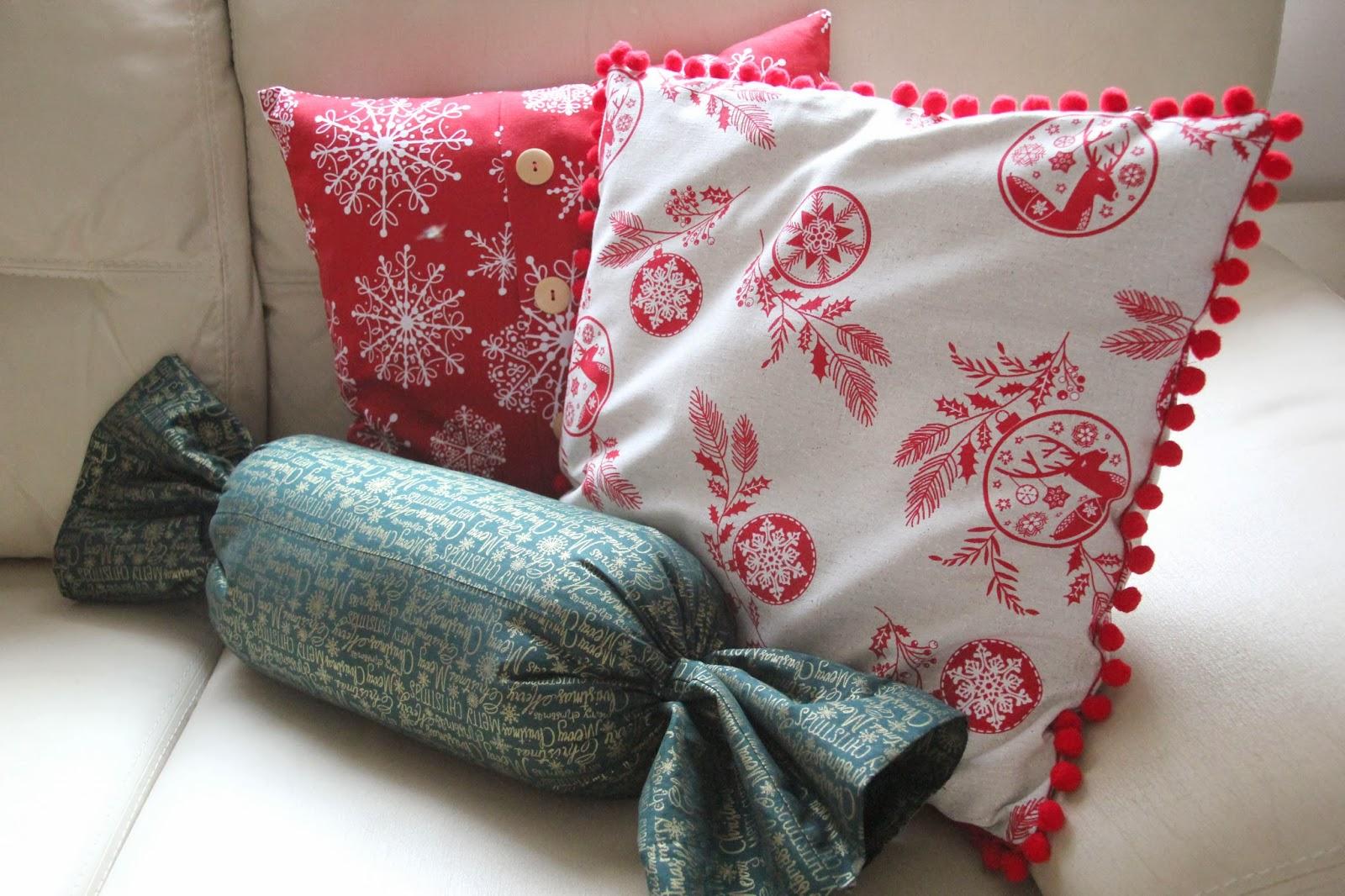 Diy navidad c mo hacer cojines para decorar tu casa en - Fotos de cojines decorativos ...
