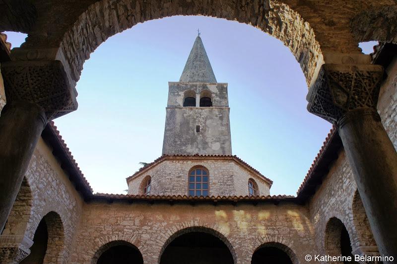 Euphrasian Basilica Porec Istria Croatia Travel