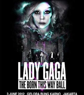 Konser Lady Gaga Dibatalkan