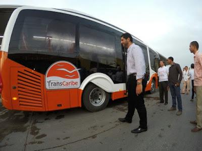 Sistema de transporte masivo en Cartagena de Indias Colombia