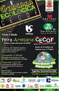 Cartaz Gincana Ecológica CECOF