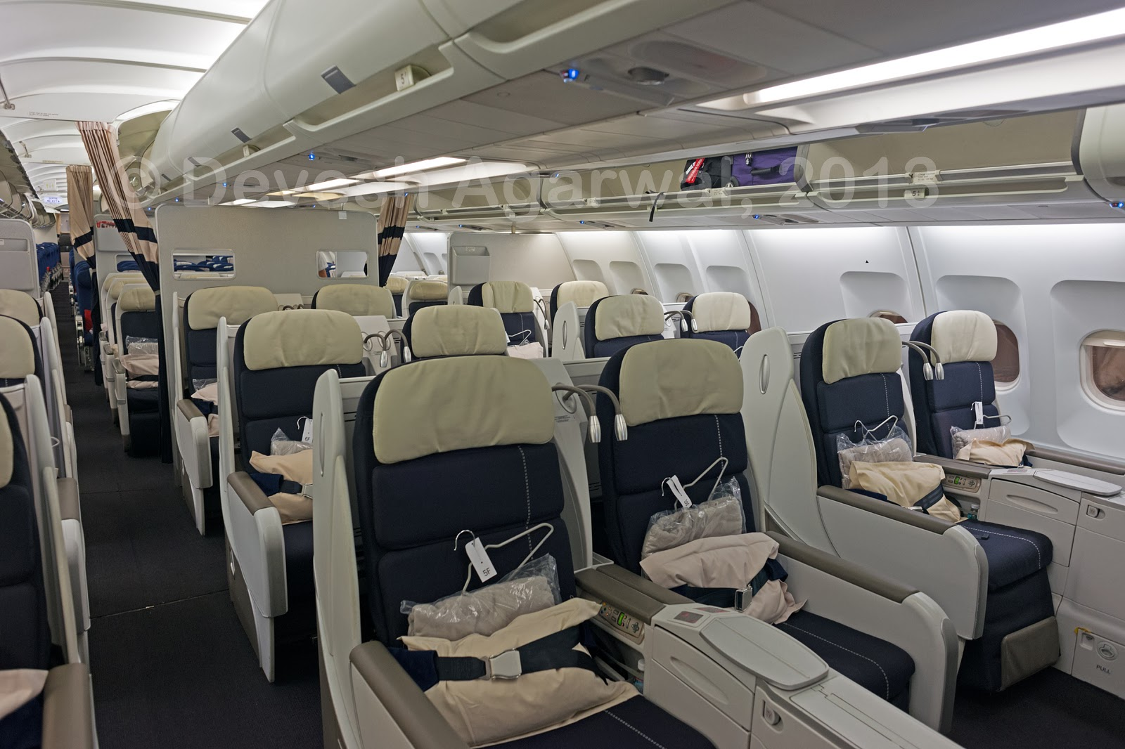 Trip report air france a330 200 business class bangalore for Interieur algerien