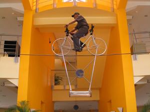 puspa iptek sepeda gantung