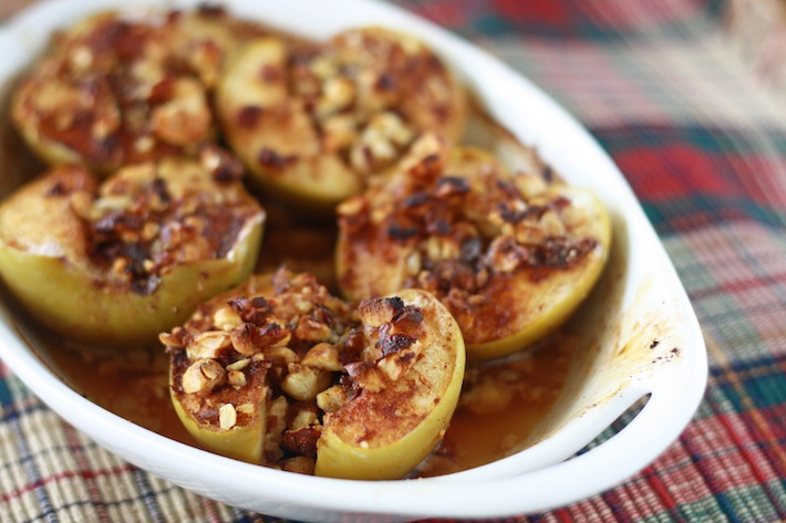 how long to bake spice apples in oven?
