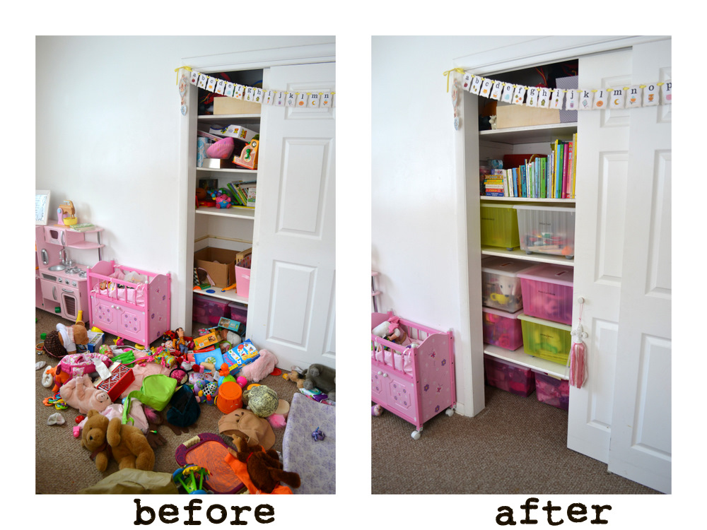 Organizing toys a room tour lark lola for Organized kids rooms