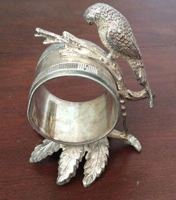 Victorian Figural Napkin Ring NO. 3