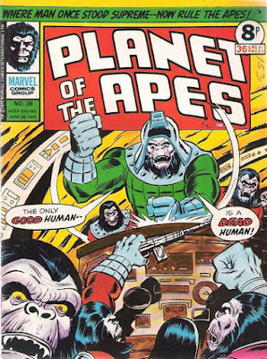 Marvel UK, Planet of the Apes #36