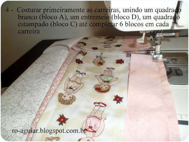 Quilt de Boas Vindas para bebê em patchwork com  PAP (DIY)