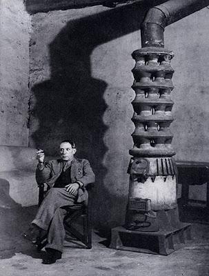 Brassaï -  In Picasso's Studio, Rue des Grands Augustins, 1939