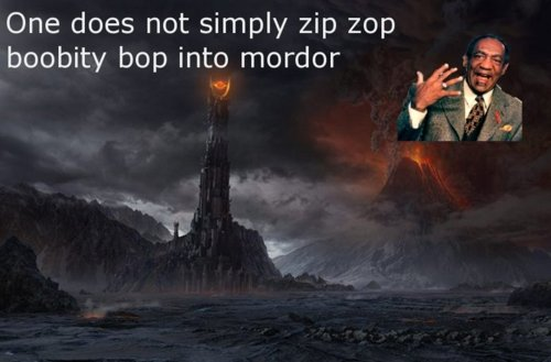 Bill Cosby To Mordor