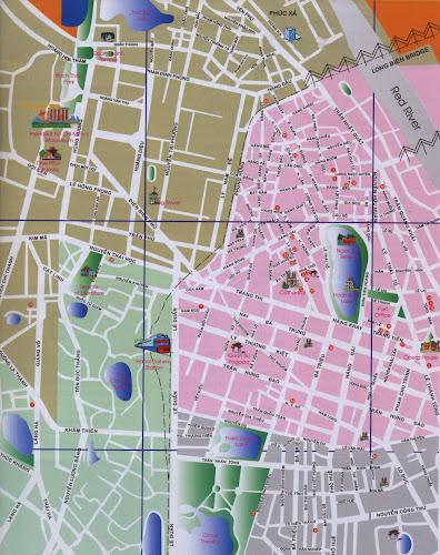 Hanoi map