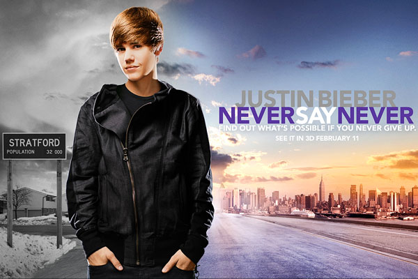 justin bieber never say never movie wallpaper. justin bieber never say never