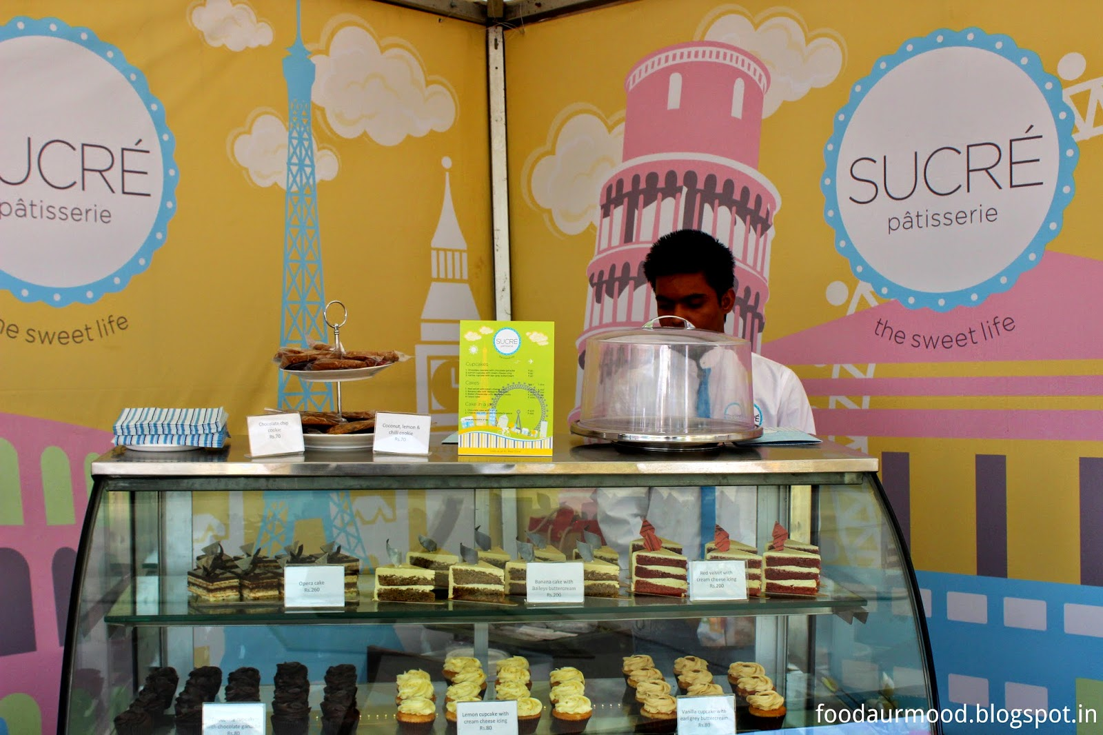 sucre, pastry, delhi, food festival