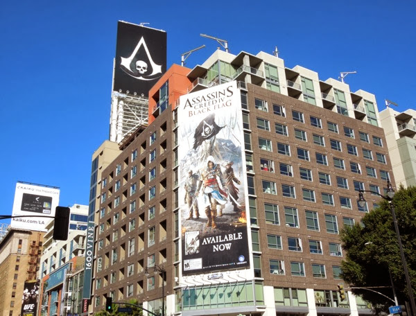 Assassins Creed 4 Black Flag billboards
