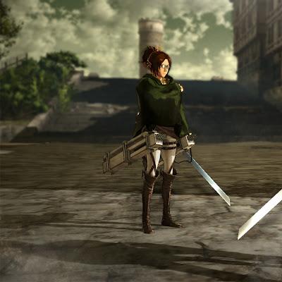 Más detalles e imágenes del juego de Shingeki no Kyojin para consolas PlayStation