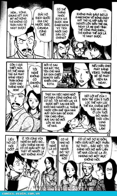 Detective Conan - Thám Tử Lừng Danh Conan chap 513 page 7 - IZTruyenTranh.com