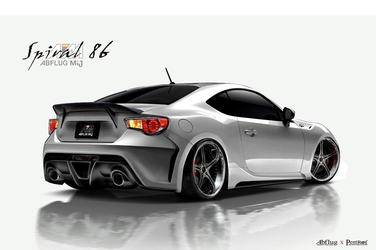 Toyota 86 Livery >> Abflug Adds Some Drama to Toyota 86 / Scion FR-S with New Supercharger Package | NewsAutomagz