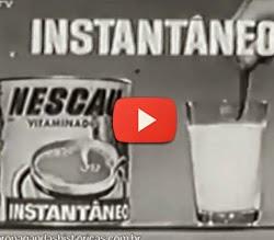 Propaganda do Nescau para a TV brasileira nos anos 60.