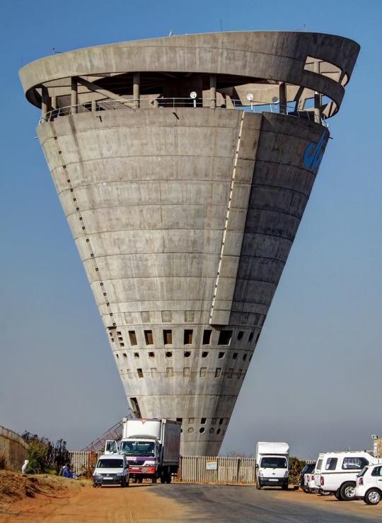 Inverted cone
