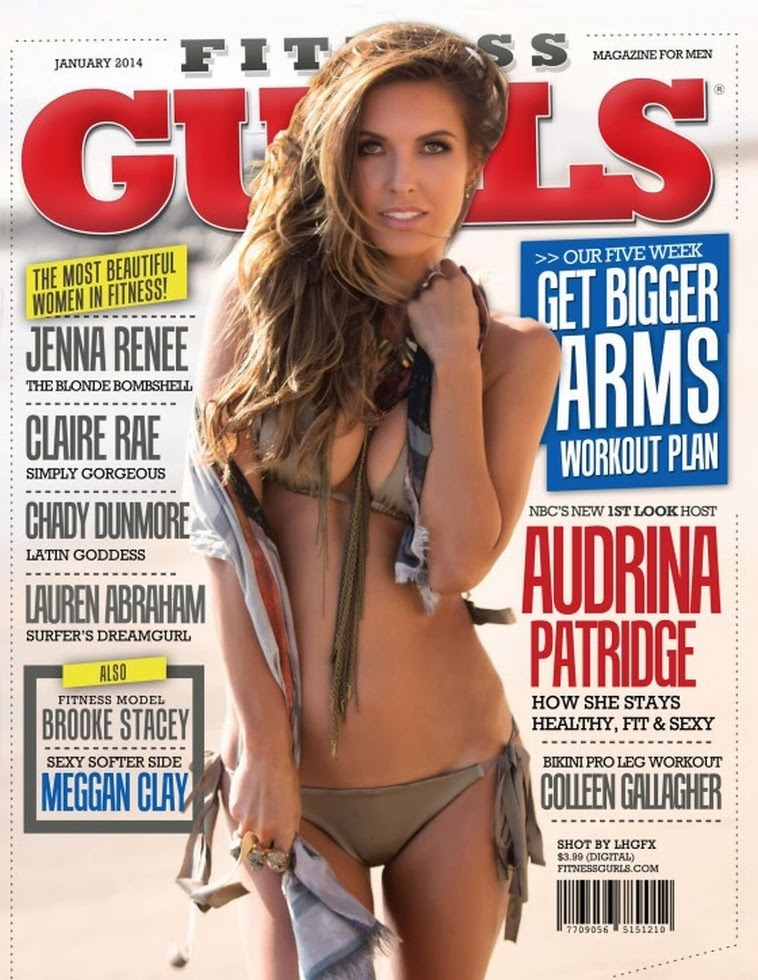 Magazine Photoshoot : Audrina Patridge Photoshoot For Fitness Gurls Magazine Japan January 2014 Issue