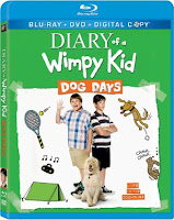 diary of a wimpy kid dog days blu-ray dvd