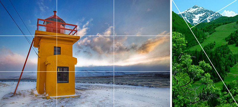 composition photography rule of thirds