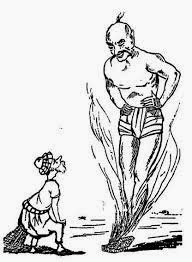 قصة الصياد والعفريت