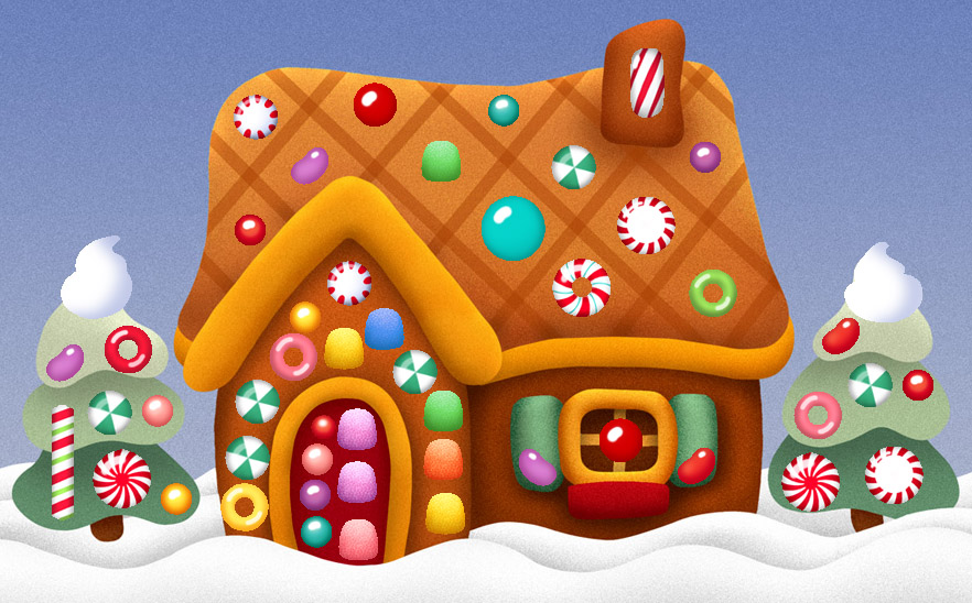 Cute Gingerbread House Clipart Sweet gingerbread houses
