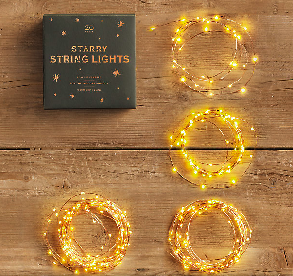 Starry String Lights Gold : Chic Coles: April 2012