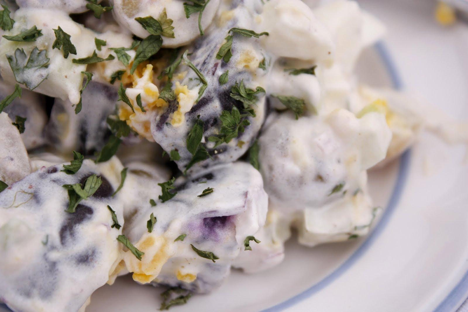 Purple Potato Salad