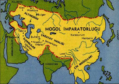 Moğollar Haritası indir